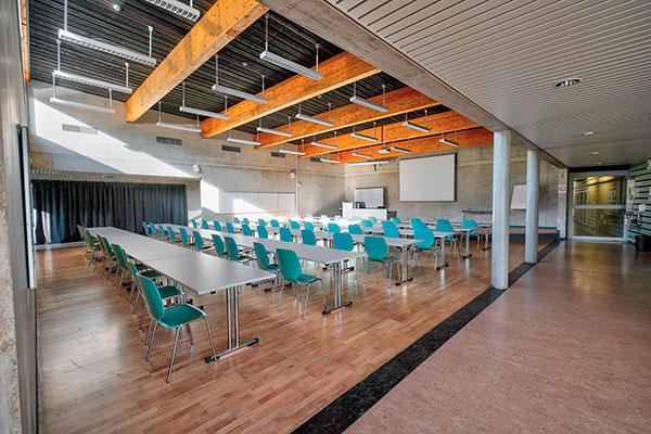 Un auditorium pour les assemblées générales