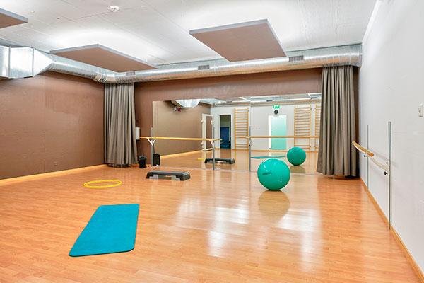 Salle pour le yoga, dance, pilates et autres
