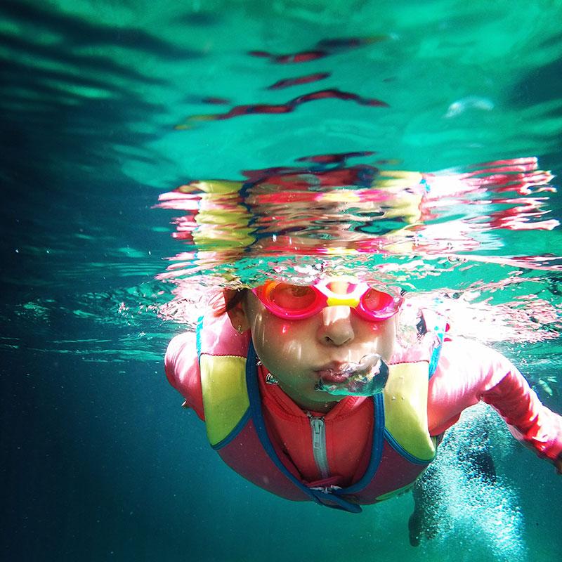 Piscine intérieure et piscine extérieure de Vitalité