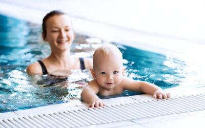 Cours bébés nageurs et jeunes enfants