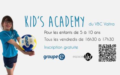 Kids Academy du VBC Valtra